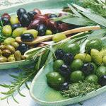 """Servietten """"Bowles with olives"""""""